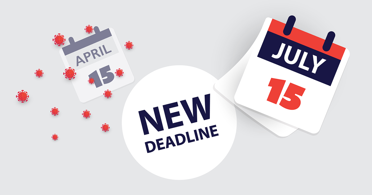 Tax Deadlines Move from April to July Image