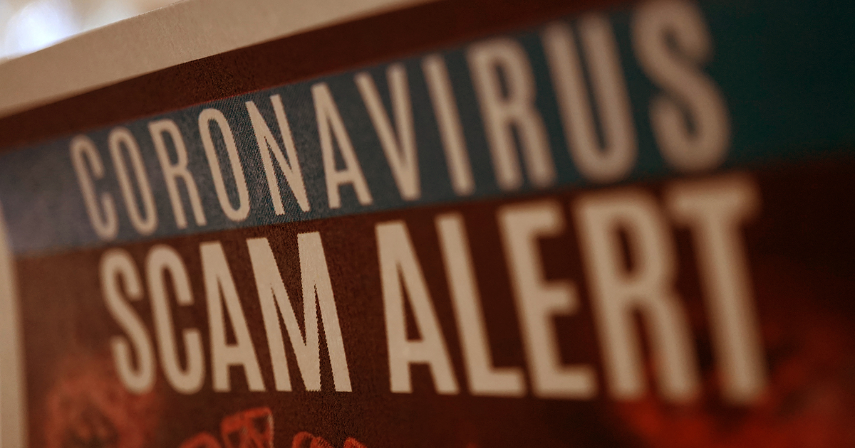 Alert! Creative COVID-19 Scams Image