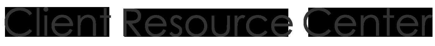 Client Resource Center